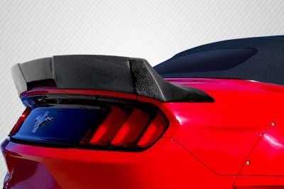 Carbon Creations - 15-17 Ford Mustang Convertible Grid Carbon Fiber Body Kit-Wing/Spoiler 112638