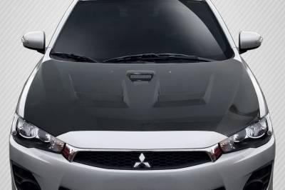Shop for Mitsubishi Lancer Hoods on Bodykits com