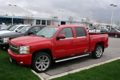 Putco - Chevrolet Silverado Putco Window Trim Accents - 97501
