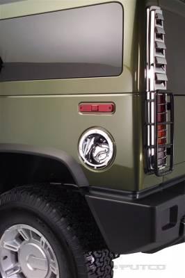Putco - Hummer H2 Putco Fuel Tank Door Cover - 400930