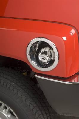 Putco - Hummer H3 Putco Fuel Tank Door Cover - 400931