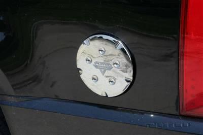 Putco - Chevrolet Suburban Putco Fuel Tank Door Cover - 404903