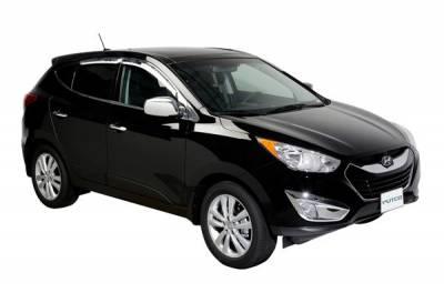 Putco - Hyundai Tucson Putco Element Chrome Window Visors - 480008