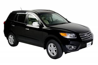 Putco - Hyundai Santa Fe Putco Element Chrome Window Visors - 480012