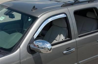 Putco - GMC Yukon Putco Element Chrome Window Visors - 480034