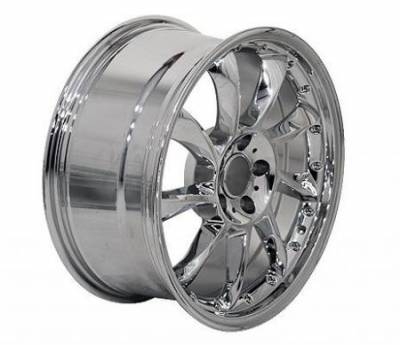 EuroT - 18 Inch Star Chrome - 4 Wheel Set