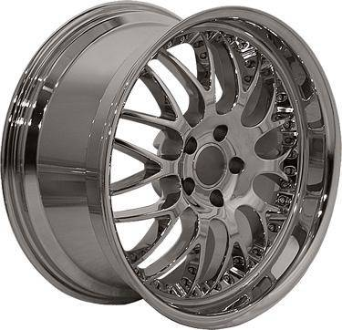 EuroT - 19 Inch Chrome - 4 Wheel Set