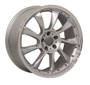 EuroT - 19 Inch Star Silver - 4 Wheel Set
