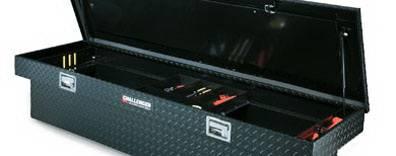 Deflecta-Shield - Nissan Frontier Deflecta-Shield Challenger Storage Box - Low Profile Single-Lid Crossover Box