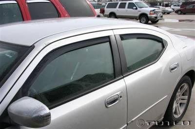 Putco - Dodge Charger Putco Element Tinted Window Visors - 580126
