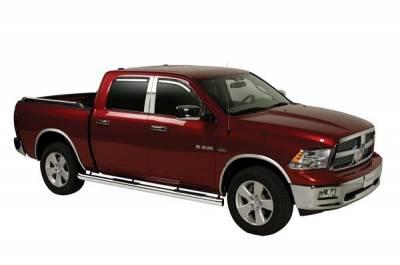 Putco - Dodge Ram Putco Element Tinted Window Visors - 580138