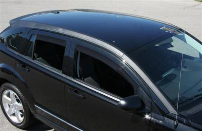 Putco - Dodge Caliber Putco Element Tinted Window Visors - 580141