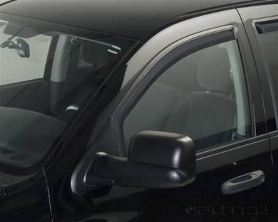 Putco - Dodge Ram Putco Element Tinted Window Visors - 580177