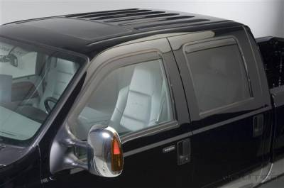 Putco - Ford F250 Superduty Putco Element Tinted Window Visors - 580209