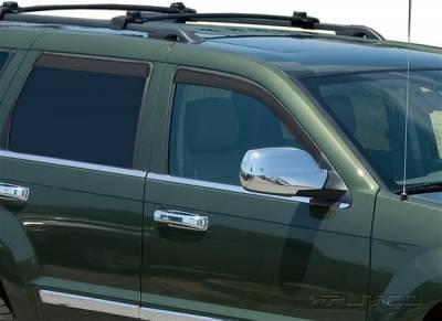 Putco - Jeep Grand Cherokee Putco Element Tinted Window Visors - 580226