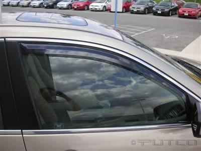 Putco - Honda Accord 4DR Putco Element Tinted Window Visors - 580422
