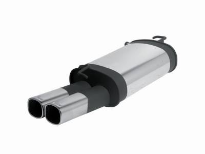 Remus - Toyota Camry Remus Rear Silencer with Dual Exhaust Tips - Square - 907096 0502