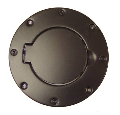 Omix - Rugged Ridge Gas Tank Filler Cover - Black - 11229-01