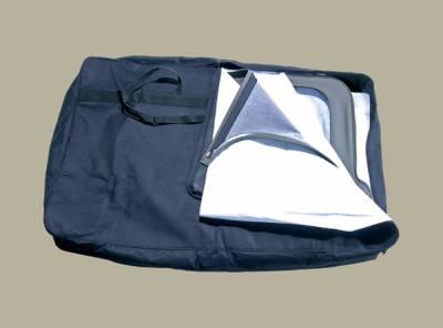 Omix - Rugged Ridge Window Storage Bag - Black - 12107-01