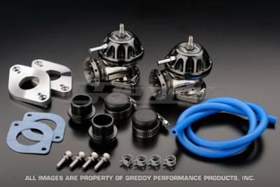 Greddy - Nissan GT-R Greddy Twin Blow-Off Valve & Adapter Kit - 11521133