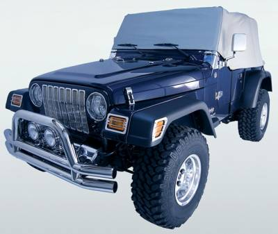 Omix - Rugged Ridge Water Resistant Cab Cover - Vinyl - 13316-09