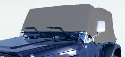 Omix - Rugged Ridge Weather Lite Full Cab Cover - 13321-01