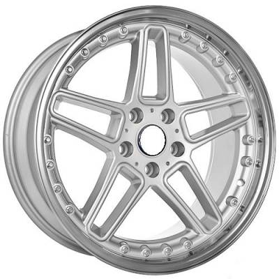 Euro Styles - 810 Silver Wheels - 18 Inches