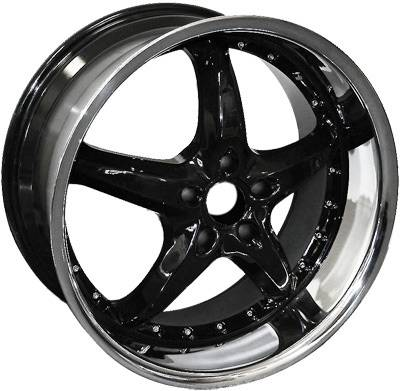 EuroT - 20 Inch Neo 5 Black - 4 Wheel Set