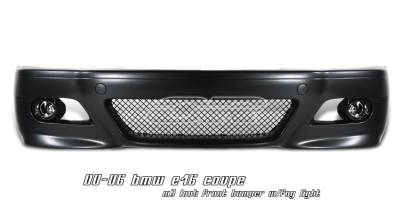 OptionRacing - BMW 3 Series Option Racing Front Bumper - 29-12108