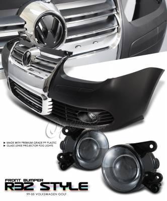 OptionRacing - Volkswagen Golf Option Racing Front Bumper - 29-45112