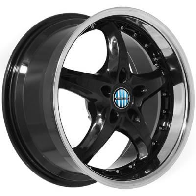 Euro Styles - 890 Black Wheels