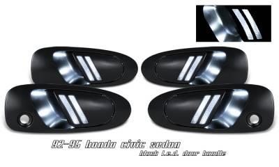 OptionRacing - Honda Civic Option Racing Door Handles - 31-20110