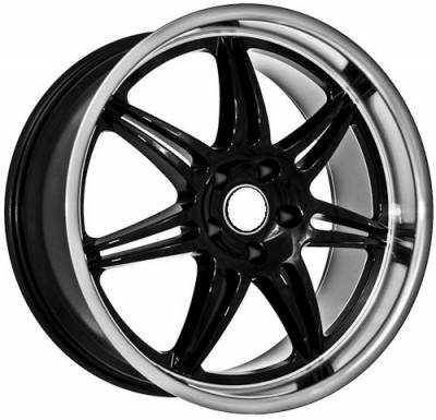 Euro Styles - 860 Black Wheels