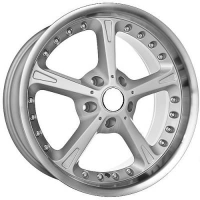 Euro Styles - 820 Silver Wheels