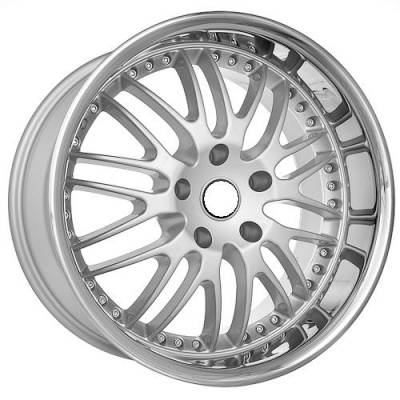 Euro Styles - 880 Silver Wheels