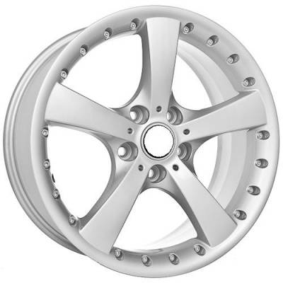 Euro Styles - 705 Silver Wheels