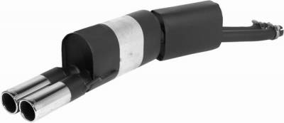 Remus - BMW 5 Series Remus Rear Silencer with Dual Exhaust Tips - Round - 088091 0504