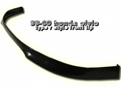 OptionRacing - Honda Civic Option Racing Bumper Lip - Type-R Style - 38-20117