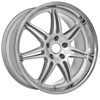 Euro Styles - 860 Silver Wheels