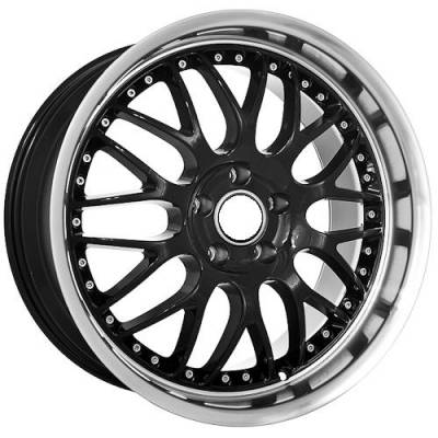 Euro Styles - 850 Black Wheels