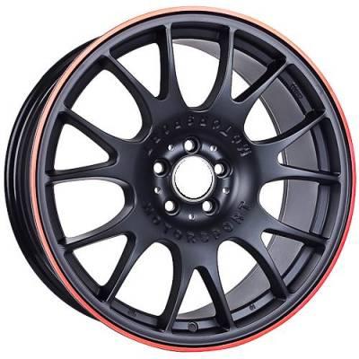 Euro Styles - 320 Black Wheels