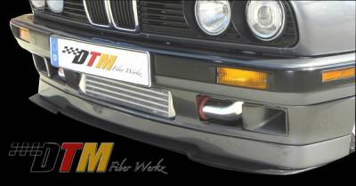 DTM Fiberwerkz - BMW 3 Series DTM Fiberwerkz IS Style Front Splitter - E30-IS-SPLIT