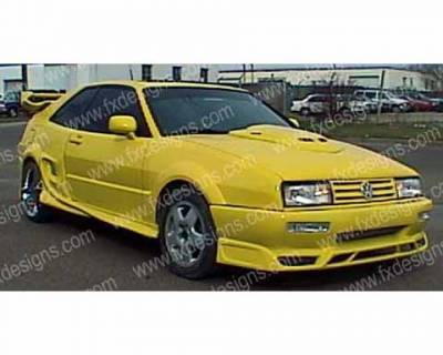 FX Designs - Volkswagen Corrado FX Design Wide Body Panels - FX-8UT5NF1