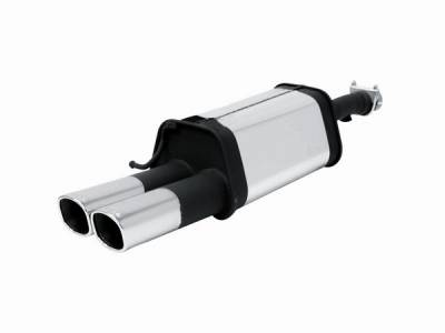 Remus - Volkswagen Passat Remus Rear Silencer with Dual Exhaust Tips - Square - 956001 0542