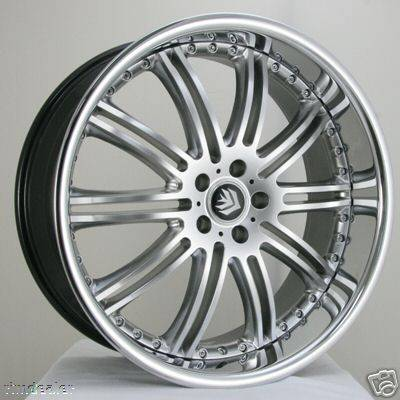 Ikon - 19 Inch S76 Style - Audi 4 Wheel Package