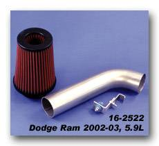 Pacesetter - Pacesetter AiR FX Performance Air Intake System - 16-2522