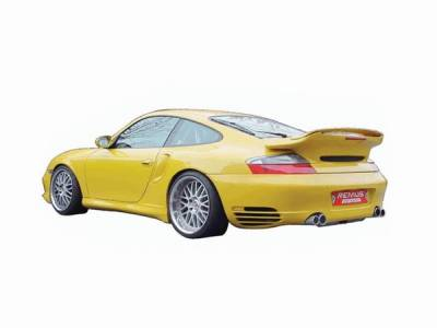 Remus - Porsche 911 Remus Rear Silencer Left & Right System with Side Dual Exhaust Tips - 689003 1506