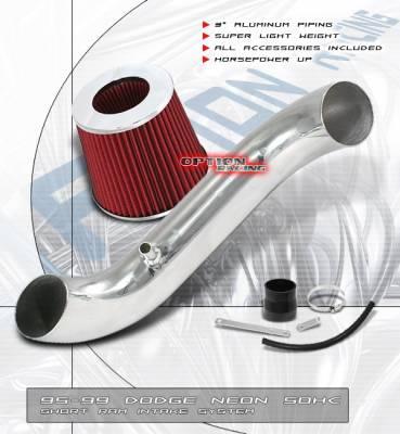 OptionRacing - Dodge Neon Option Racing Air Intake Pipe - Polish - 36-17193