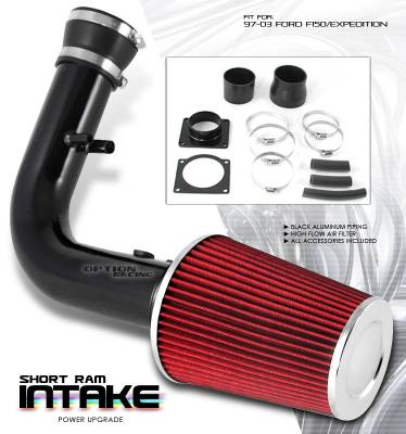 OptionRacing - Ford Expedition Option Racing Air Intake Pipe