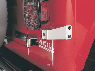 Rampage - Jeep Wrangler Rampage Tailgate Stopper - 7342